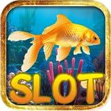 Goldfische Einarmiger Bandit Glücksspielautomat Deluxe - max Wette Mega gewinnen gratis Las Vegas-Casino-Slot-Poker progressive Jackpot-Bonus Poker-Maschine Spiel