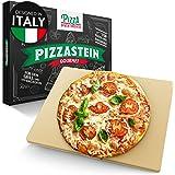Pizza Divertimento pietra refrattaria per pizza da forno - Cuoci pizza in pietra di cordierite - Pietra Pizza croccante & suc
