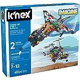 K'NEX 33942 - Building Set - Turbo Jet 2-in-1 - 402 Pieces - 7+ - Bau- und Konstruktionsspielzeug