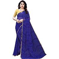 ANNI DESIGNER chiffon with blouse piece Saree