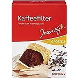 Jeden Tag Filterpåsar kaffe storlek 2, 100 stycken, 187 g