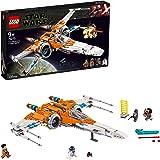 LEGO Star Wars - Caza Ala-X de Poe Dameron, Juguete de Construcción Inspirado en la Guerra de las Galaxias, Incluye 3 Minifig