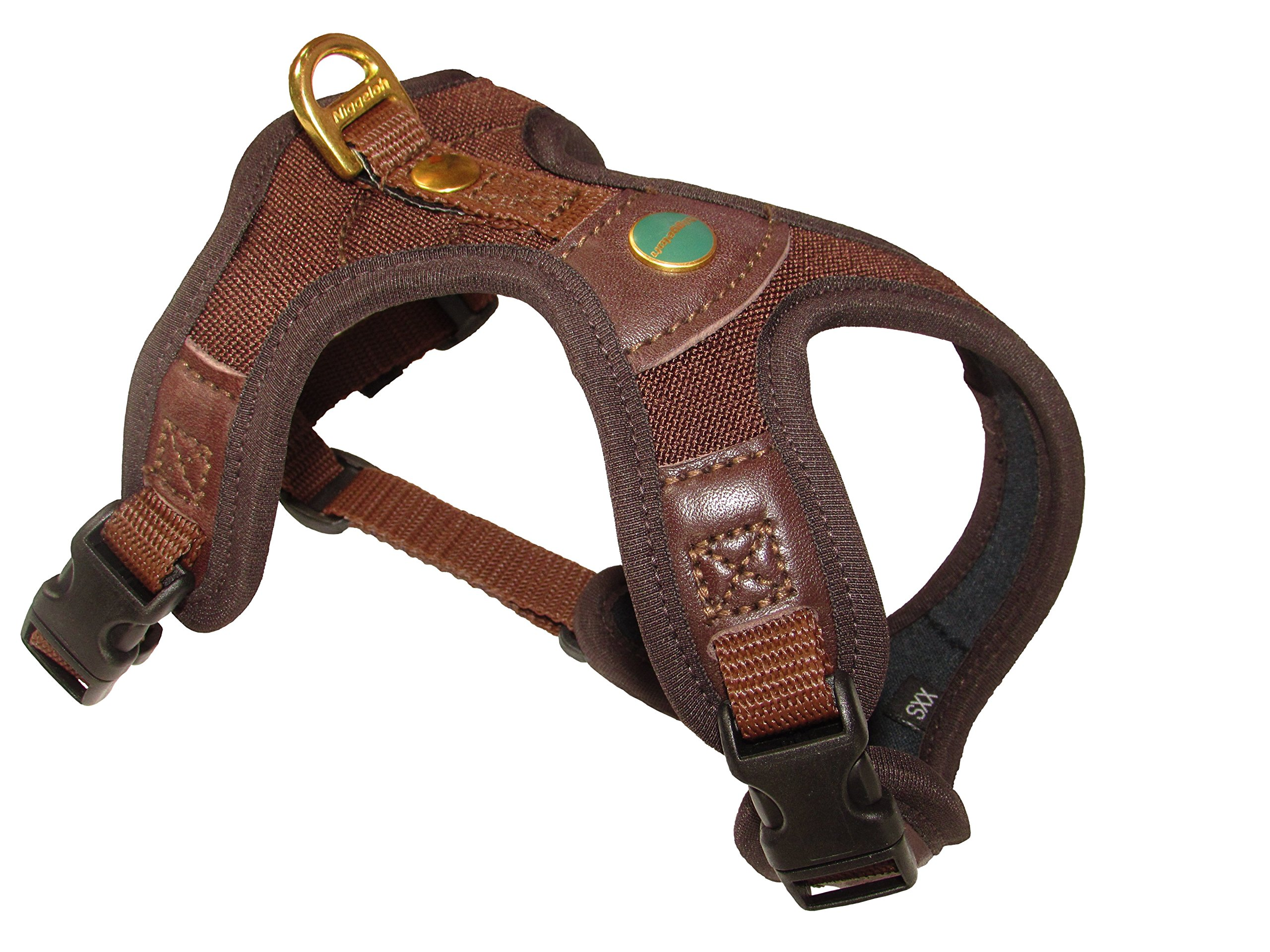Niggeloh    Outdoor Follow Light Dog Harness available in Brown –