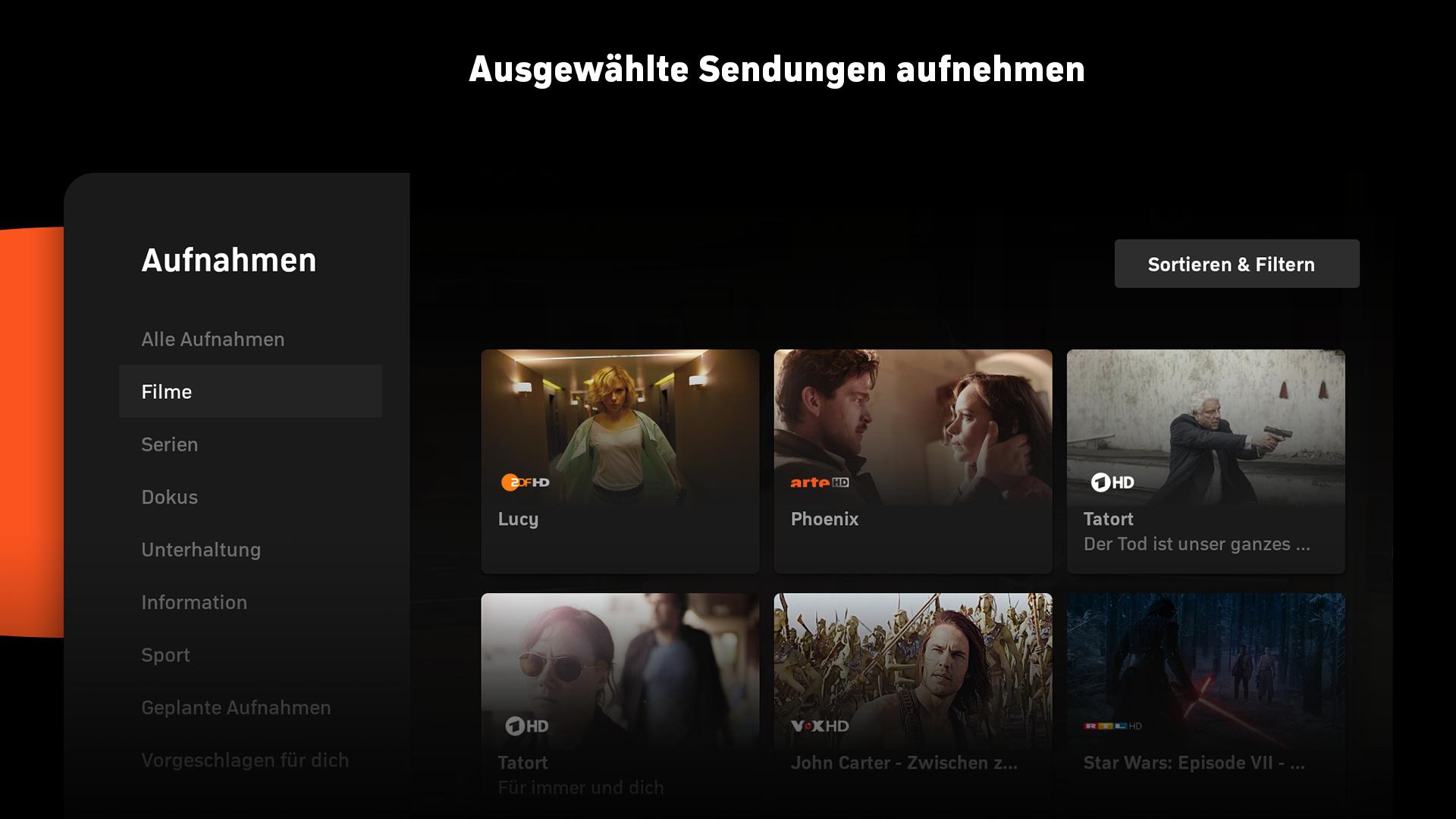 Zattoo - TV Streaming Screenshot