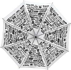 kehklo White Folding Umbrella