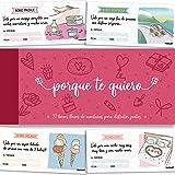 PACKLIST Talonario para Parejas, 22 Románticos Vales para Regalar - Porque Te Quiero - Regalos para Parejas y Enamorados. Ide