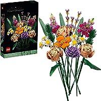 LEGO Creator Expert Bouquet di Fiori, Set Collezione Botanica e Idea Regalo per Adulti, Modello da Esposizione, 10280