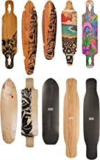 JUCKER HAWAII Longboard DECKS - NEW HOKU (Flex 1 - 3), MAKAHA, MAKAHA CRUISER, PONO, MAHALO, WAILANI, MANA, Dancer KOA und CARBON, FREERIDE PRO - DECK only