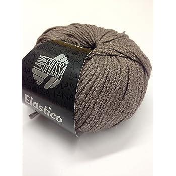 Fb Elastico 129 grasgrün 50 g Lana Grossa Wolle Kreativ