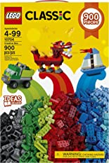 LEGO Classic  Creative Building Blocks for Kids ,Multi Color (900 pcs) 10704
