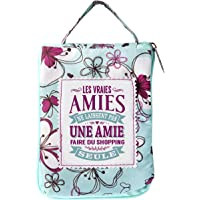 Les Petites Nans 04221000008 - Borsa per la spesa personalizzata AMIE 1