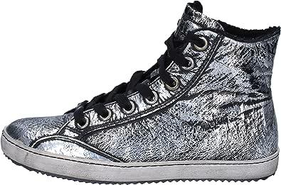 Cult Sneaker Donna Pelle Nero