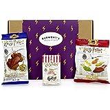 Harry Potter Caja De Selección De Dulces Y Chocolates Americanos - Ranas De Chocolate, Jelly Belly Bertie Bott's Grajeas Y Ba