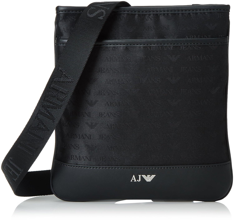 Armani Jeans Piattina Piccola, Men's Shoulder Bag, Schwarz (Nero ...
