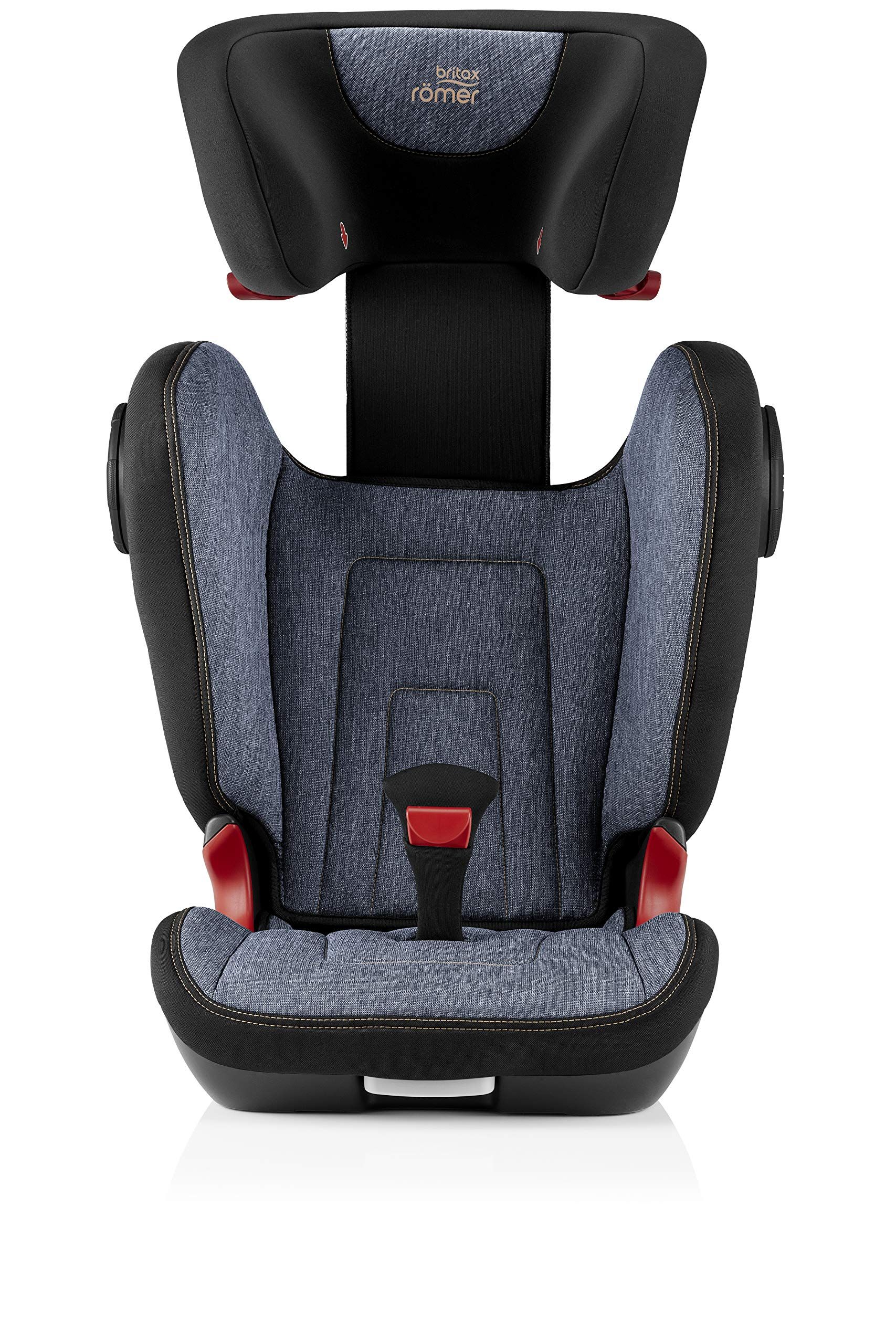 Britax Römer KIDFIX² S Group 2-3 (15-36kg) Car Seat - Blue Marble Britax Römer Advanced side impact protection - sict offers superior protection to your child in the event of a side collision. reducing impact forces by minimising the distance between the car and the car seat. Secure guard - helps to protect your child's delicate abdominal area by adding an extra - a 4th - contact point to the 3-point seat belt. High back booster - protects your child in 3 ways: provides head to hip protection; belt guides provide correct positioning of the seat belt and the padded headrest provides safety and comfort. 7