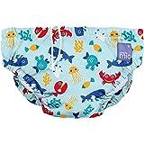Bambino Mio SWPS DSB Costumino Contenitivo Mutande Contenitive da Nuoto, 0 - 6 Mesi, Multicolore (Profondo Blu)
