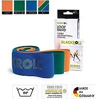 BLACKROLL  Fitnessband Loop Band Trainingsband Gymnastikband Sportband mit starker Dehnbarkeit, One Size, AMLBBE