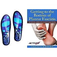 Activre Premium Orthotic Insoles - Plantar Fasciitis - Flat Feet - Heel Spur - Metatarsal Support - Fallen Arches…