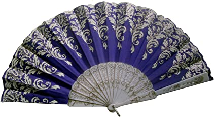 Northeast HANDICRAFTS Portable Fancy Folding Colour Gradient Chinese Style Handheld Vintage Fan for Travelling in Summer