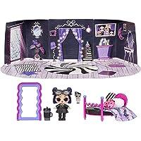 LOL Surprise Furniture, Con Bambola Dusk e 10+ sorprese, Set da gioco pieghevole per bambole in miniatura, Compatibile…