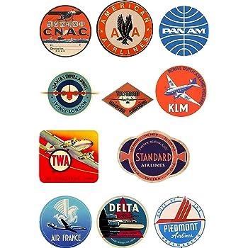 stickers Vintage suitcase