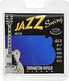 Thomastik Cordes Guitare électriques Jazz Swing Series Nickel Flat Wound Jeu JS113 Medium .013-.053w
