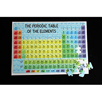 Periodic Table Gcse A Level Revision Jigsaw Amazon Toys Games