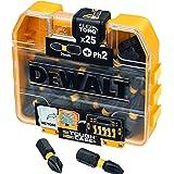 Dewalt Diskdisplay bitset EXTREME FLEXTORQ 25 delar (21 lådor i displayen, storlek Ph2, längd 25 mm, skruvbit) DT70555T-QZ
