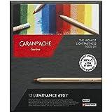 Caran d-Ache 6901.712 12pezzo(i) pastello colorato - pastello colorato (12 pezzo(i), Esagonale