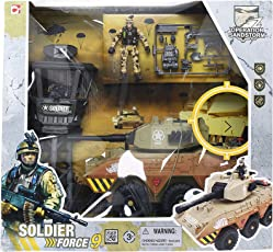 Soldier Force 9 Swamp Pirana Playset