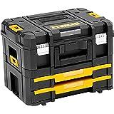 DeWalt TSTAK DWST1-70702 Gereedschapskist (transportbox combo bestaande uit TSTAK II, TSTAK IV, combineerbaar met andere TSTA