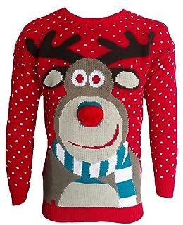 lavorato a maglia Blush Avenue/® maglione a tema natalizio unisex