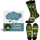 Belloxis Gifts for Men, Fishing Socks Fisherman Socks Novelty Socks Funny Funky Socks Gifts for Fisherman