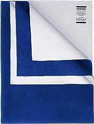 Amazon Brand - Solimo Baby Water Resistant Dry Sheet, Medium, 100cm x 70cm, Royal Blue