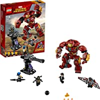 LEGO 76104 Marvel Avengers The Hulkbuster Smash-Up, Bruce Banner, Falcon, Proxima Midnight and Outrider,  Wakanda Defence Playset