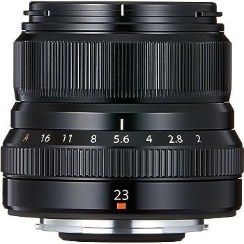 Fujifilm Fujinon 23  / F 2.0 XF R WR Objectifs 23 mm Noir