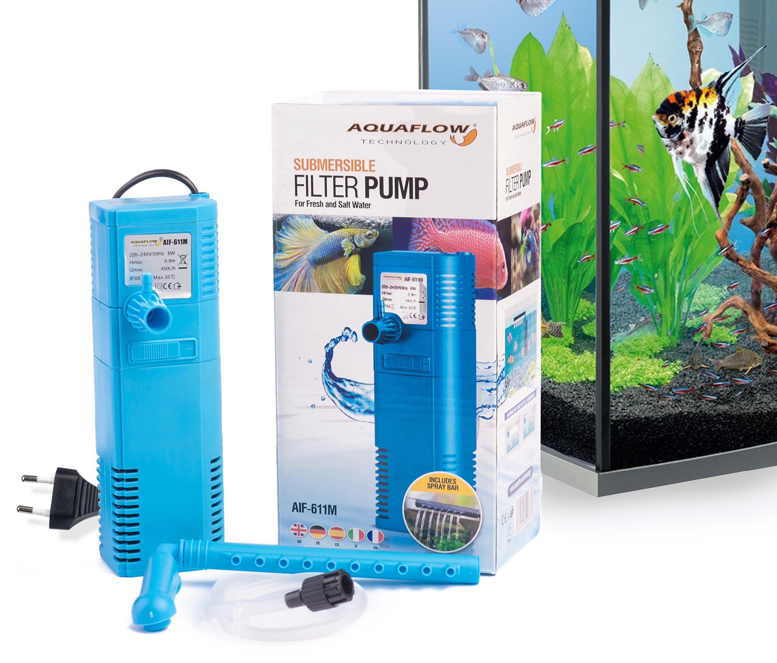 Aquaflow Technology AIF underwater aquarium filter pump for fresh