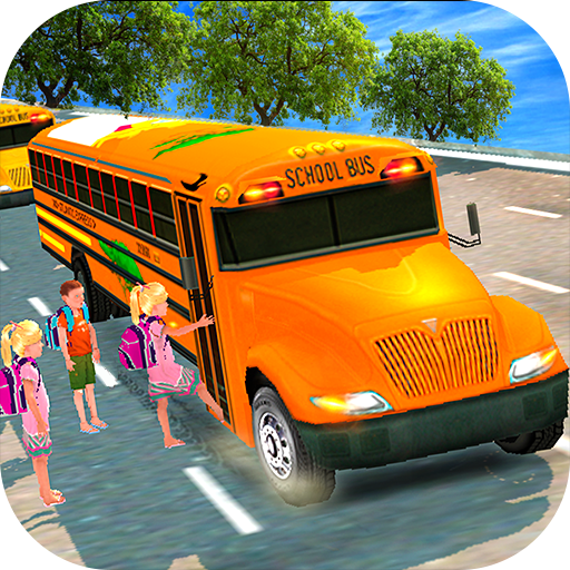 High School Bus Driving 3D - Apps Bus School