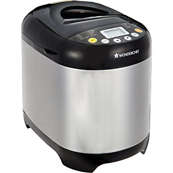 Wonderchef Regalia 63152199 550-Watt Bread Maker (Black/Silver)
