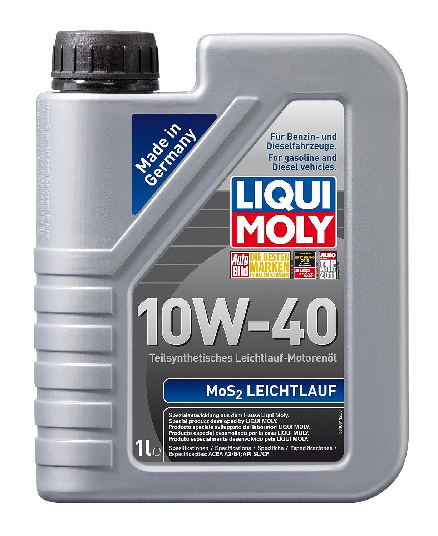 Liqui moly 1092 mos2 leichtlauf motor l 10 w 40 5 liter amazon de auto