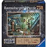 Ravensburger- Escape Puzzle 759 pièces-La Cave de la Terreur Adulte, 4005556164356, No Color