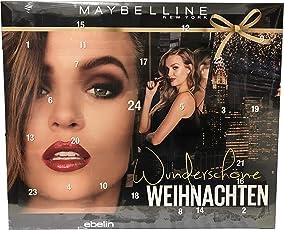Maybelline - Adventskalender 2018 - Advent Calendar - Wunderschöne Weihnachten - Beauty - Kosmetik - Limitiert