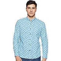Diverse Men's Printed Regular Fit Casual Shirt