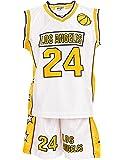 Top-Kiddy-Fashion Jungen Basketball Trikot | Coole Jungen Sportbekleidung | Boston und Cleveland Trainings Trikot | umfangreiche GroßenauswahlTKF2942