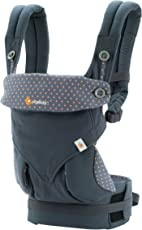 Ergobaby 360 All Carry Positions Award Winning Ergonomic Baby Carrier (Dusty Blue)