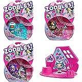 Zoobles Jouet - Pack 1 Zoobles Z-Girlz - Boules Magiques Colorées Transformables en Animaux Fantastiques et Poupées Z-Girlz A