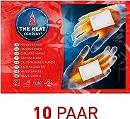 THE HEAT COMPANY Scaldamani - EXTRA CALDO - Cuscini termici - 12 ore mani calde - pronti all'uso - autoriscaldante - puro nat