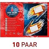 THE HEAT COMPANY Handwärmer - 10 oder 40 Paar - EXTRA WARM - Taschenwärmer - 12 Stunden warme Hände - sofort einsatzbereit - luftaktiviert - rein natürlich