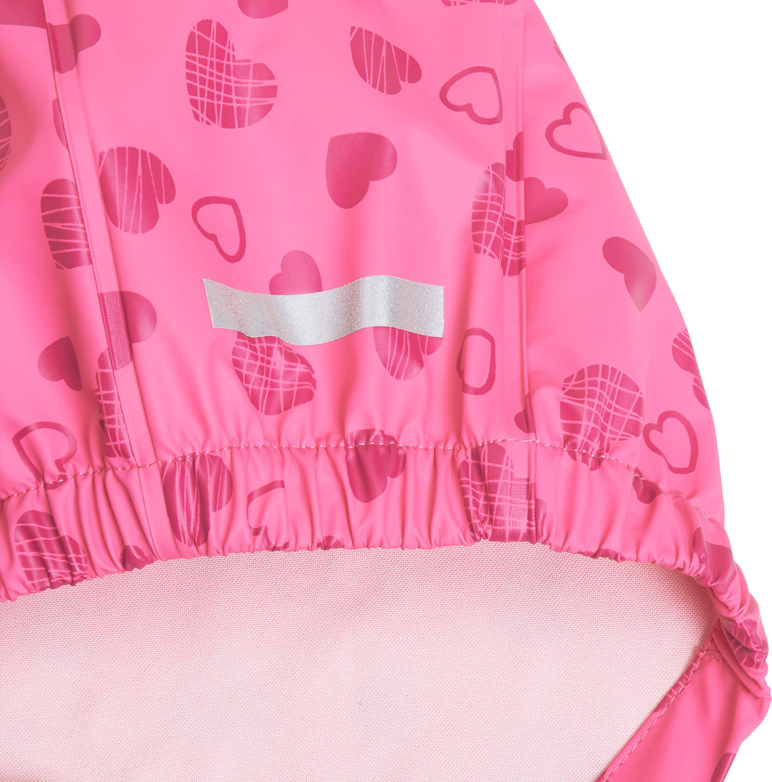 Playshoes Regen-Overall Herzchen Allover Pantalones Impermeable para Bebés 5