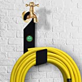 TrustBasket Garden Hose Pipe Hanger/Holder/Stand - Made of Strong Galvanized Metal